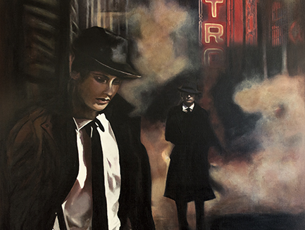 Castro Theatre San Francisco American Noir Paintings