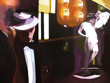 moody lounge art paintings