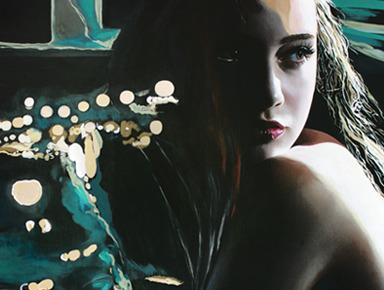American Film Noir Decor Paintings