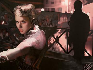 film noir vintage contemporary art