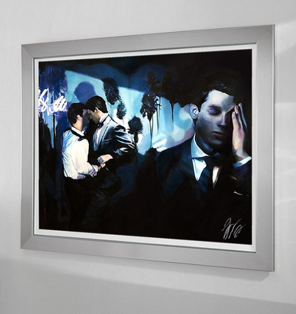 The Premonition - Los Angeles - West Hollywood - American Noir Paintings