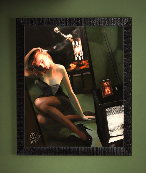 Your Identity Has Changed - Twilight Zone - American Noir Paintings