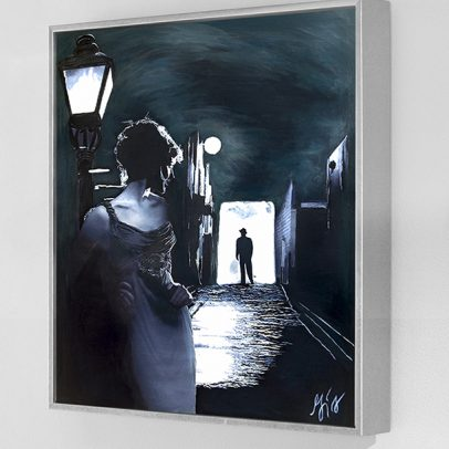 Insomnia Film Noir - American Noir Paintings Art
