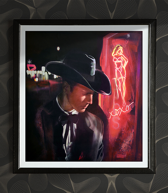 El Paseo Art Galleries - Vintage Las Vegas - Hollywood - American Noir Paintings