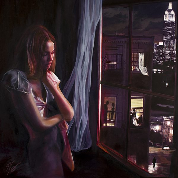 On The Corner Where You Live - Album Cover - Paper Kites - American Noir Paintings