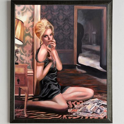 Film Noir Paintings