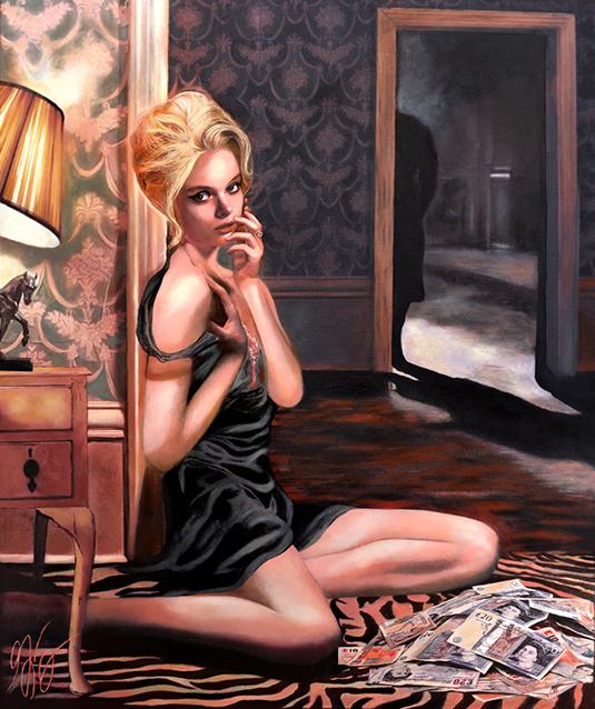 Film Noir Paintings