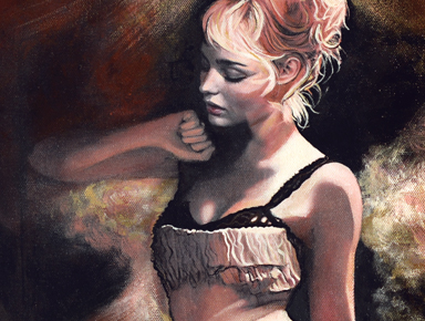 Original Film Noir Paintings and Giclee Prints