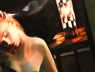 Contemporary American Noir Paintings