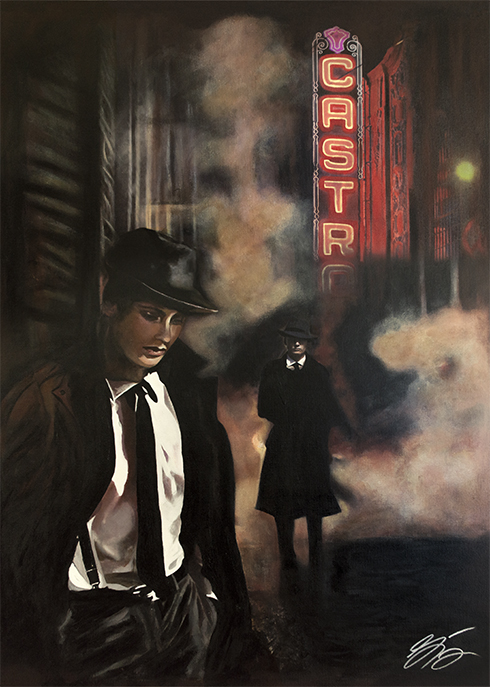 Castro Theatre San Francisco American Noir Paintings